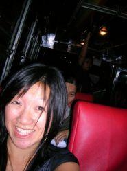 me on a Thai bus!