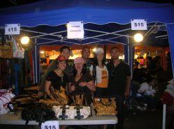 Richmond night market: bags n boys