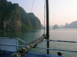 sailing on the decks