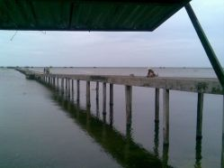 Bridge in Phu Quoc on a solitude-esque day