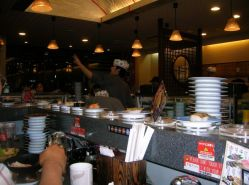 Kaiten (conveyer belt) sushi