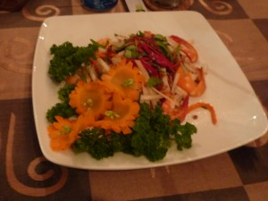 delish vn lotus root salad with seafood