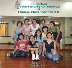 Dancing with international ladies :)