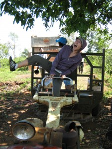 jolly ol' tractor riding