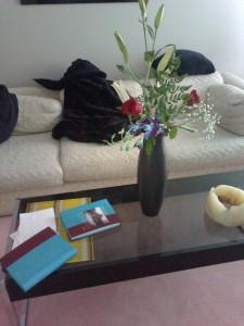 photo journals, roomie's flowers