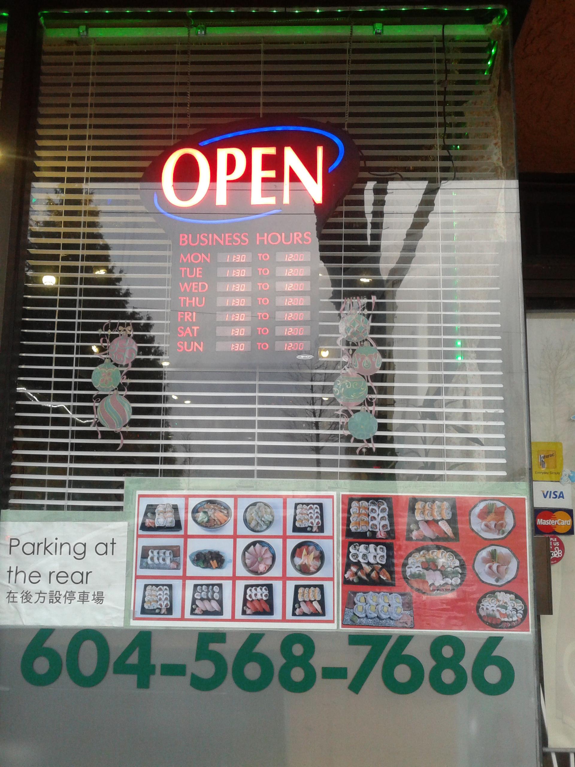 Good ol' sushi: a longtime YVR staple